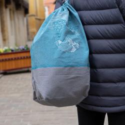 Sac matelot, un sac à dos totalement fabriqué en France, et personnalisable
