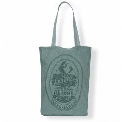 Tote bag soufflet créatif, personnalisable et produit entièrement en France
