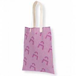 Tote bag personnalisable avec franges, personnalisable et tissé en France