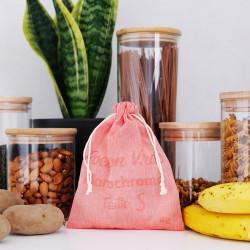 Pochon de taille S conçu pour le vrac alimentaire en situation dans une cuisine