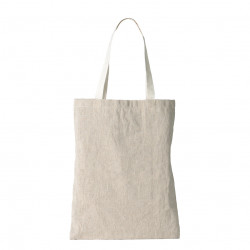 Tote bag en matière naturelle recyclée : du lin cultivé en France